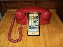 Red Rotary i phone