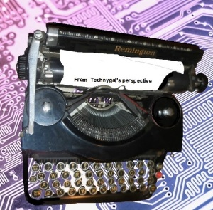1 tech typewriter